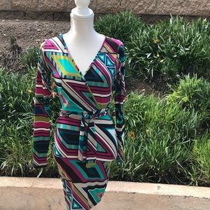 Symphony Multi Colored cute dress for Spring!